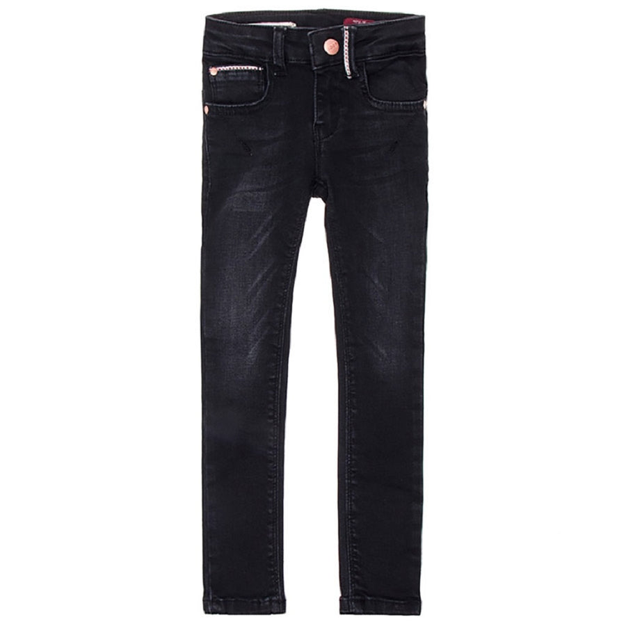 Boof Power Stretch-Jeans Skinny Fit Impulse Black