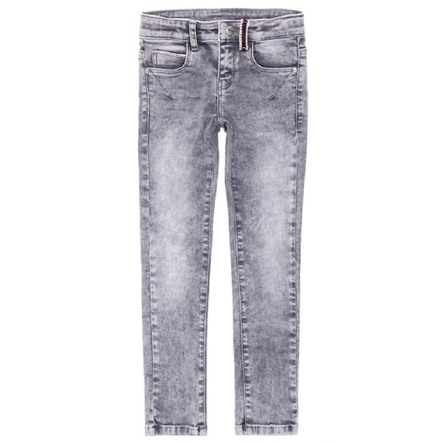 Boof Stretch-Jeans Slim Fit Solar Wash Grey