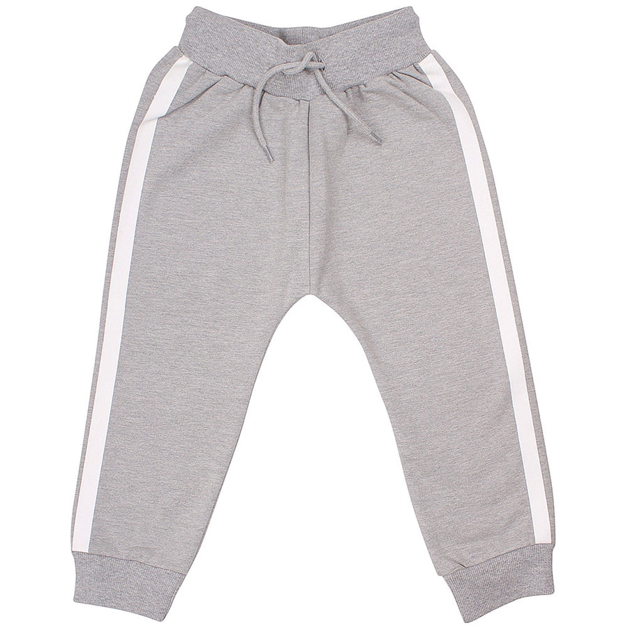 Danefae Hose Silver Heather Grey Stripes Junior