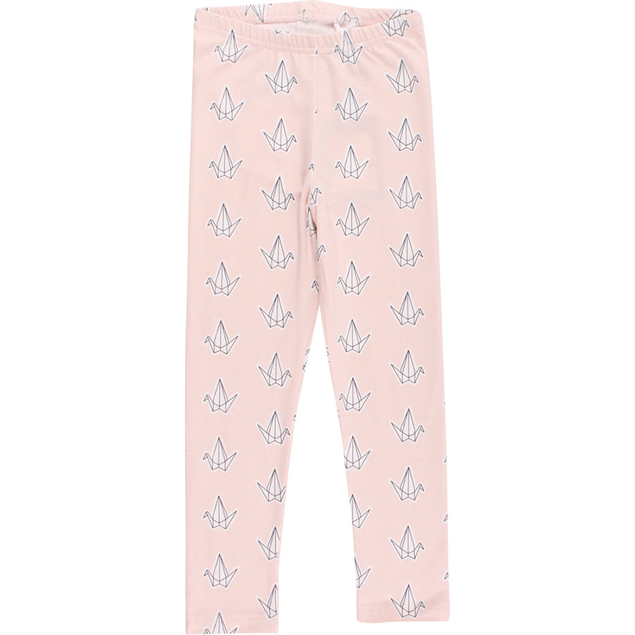 Fred's World by Green Cotton Leggings Vogel Rosa Baby