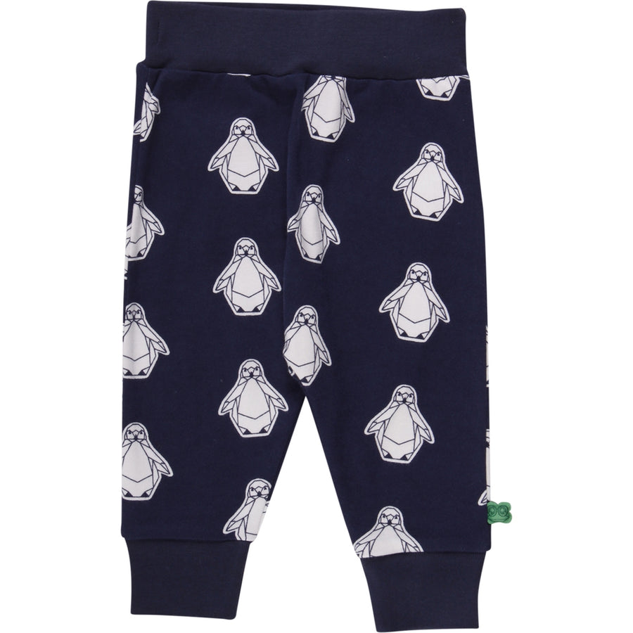 Fred's World by Green Cotton Funky Hose Pinguin Navy