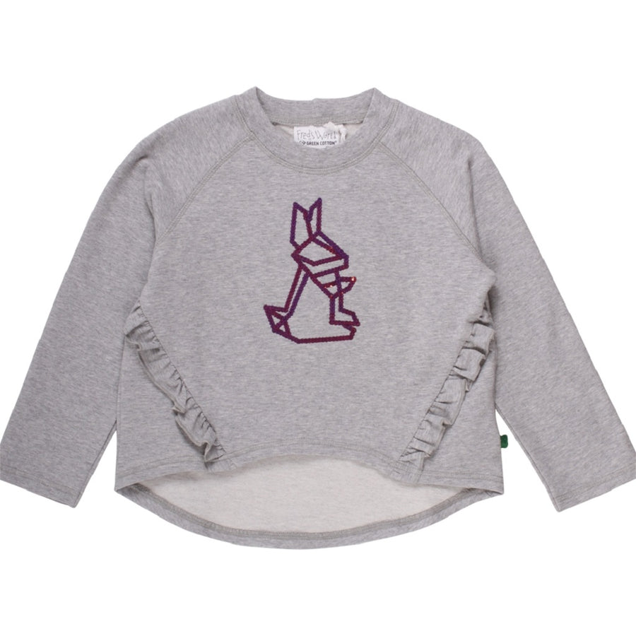 Fred's World by Green Cotton Pullover Hase