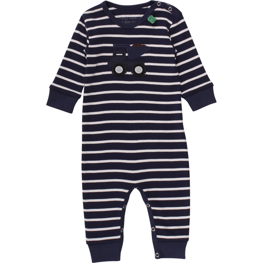 Fred's World by Green Cotton Strampler Laster Navy