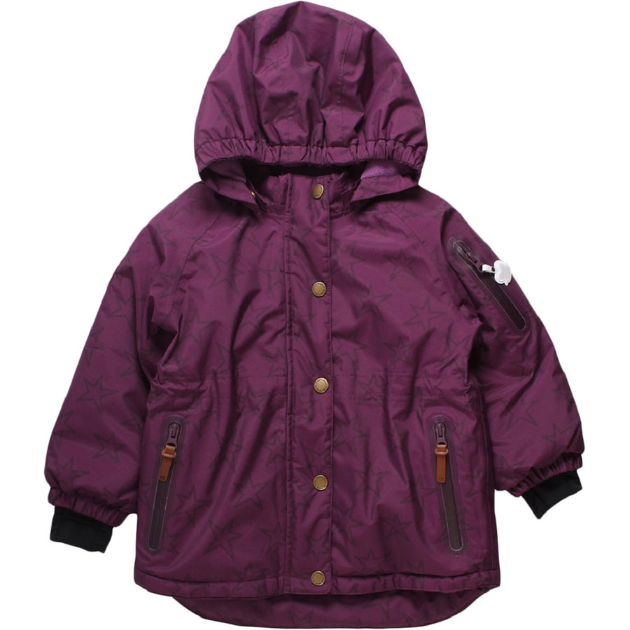 Fred's World by Green Cotton Outdoorjacke Sterne Bordeaux