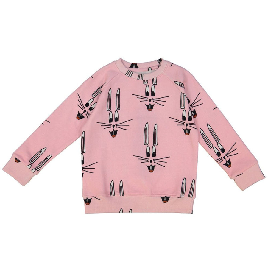Hugo Loves Tiki Sweatshirt Hase Pink
