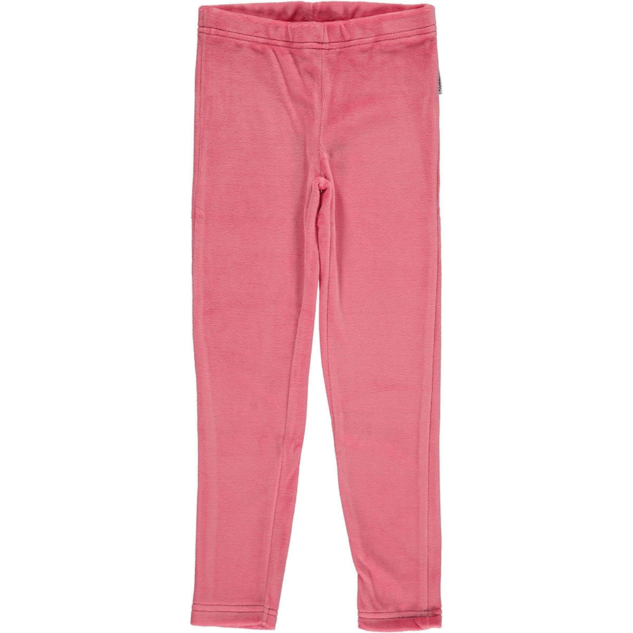 Maxomorra Velours Leggings Pink