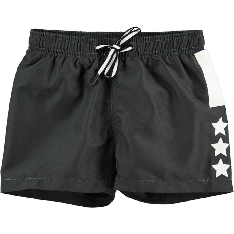 Molo Badeshorts Niko Solid Almost Black