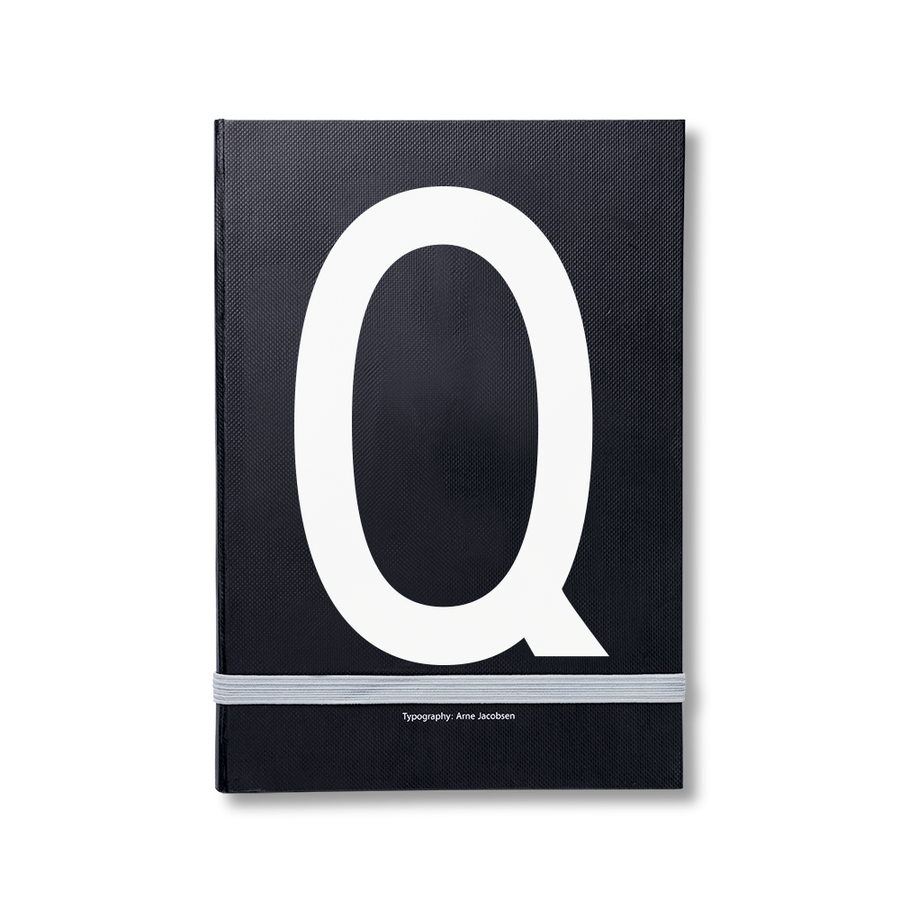 Design Letters Notizbuch Q