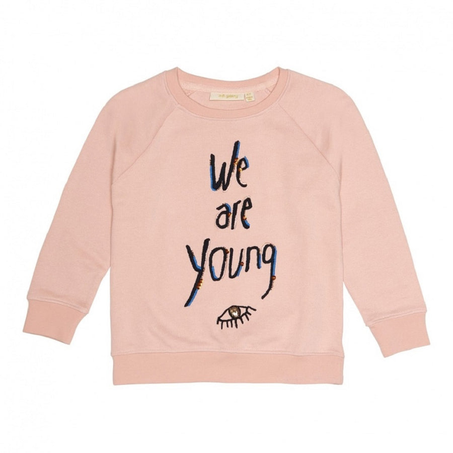 Soft Gallery Chaz Sweatshirt Young Embrace Rose Cloud