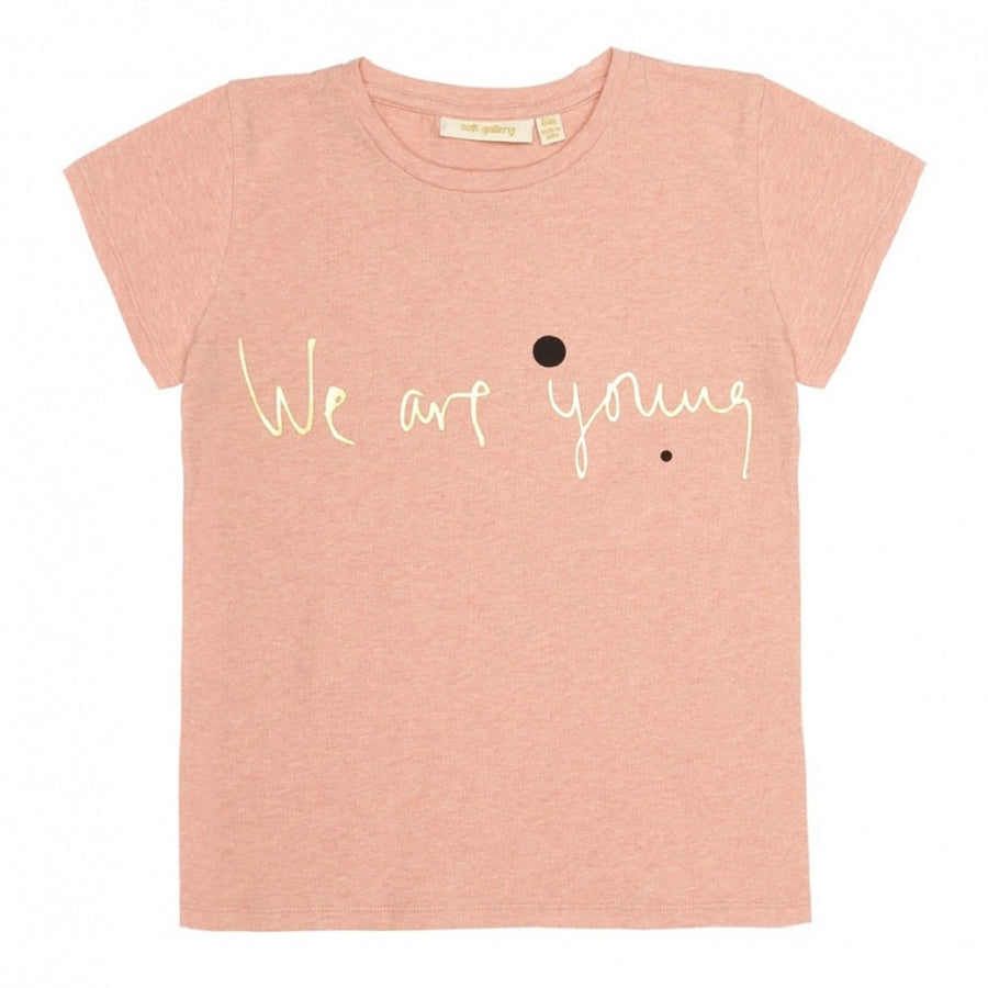Soft Gallery Pilou T-Shirt We Are Apricot