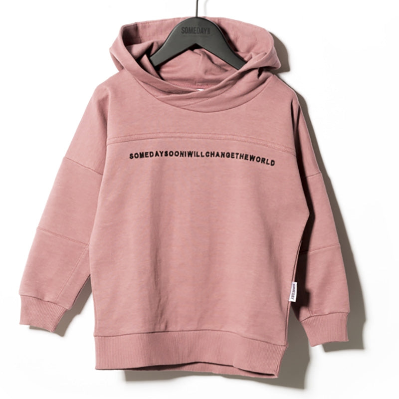 Someday Soon Kapuzenpullover Carmel Pink
