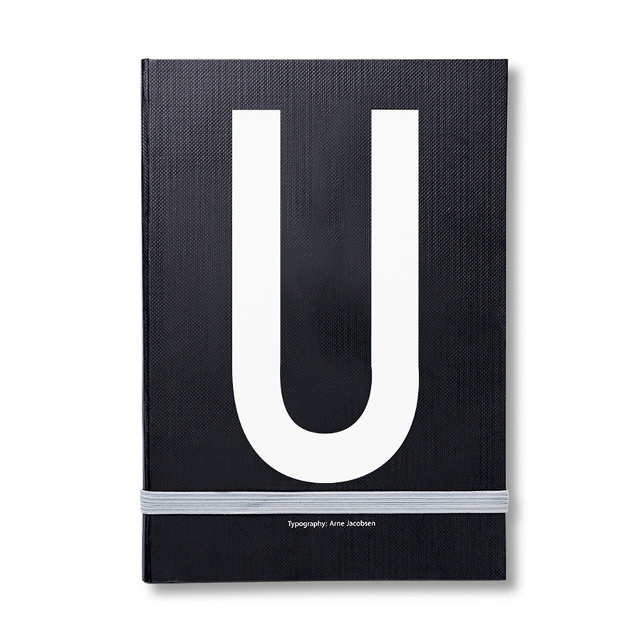Design Letters Notizbuch U