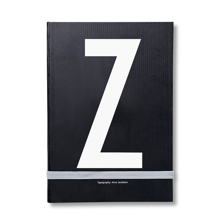 Design Letters Notizbuch Z