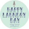 Happy Laundry Day Vintage
