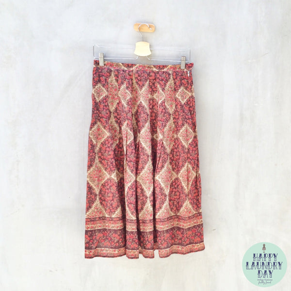 Gypsy Jig | Vintage rustic French Countryside  Farmhouse rustic Skirt