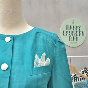Emerald City Green | Vintage wizard of oz green 1980s button down Pencil Skirt dress