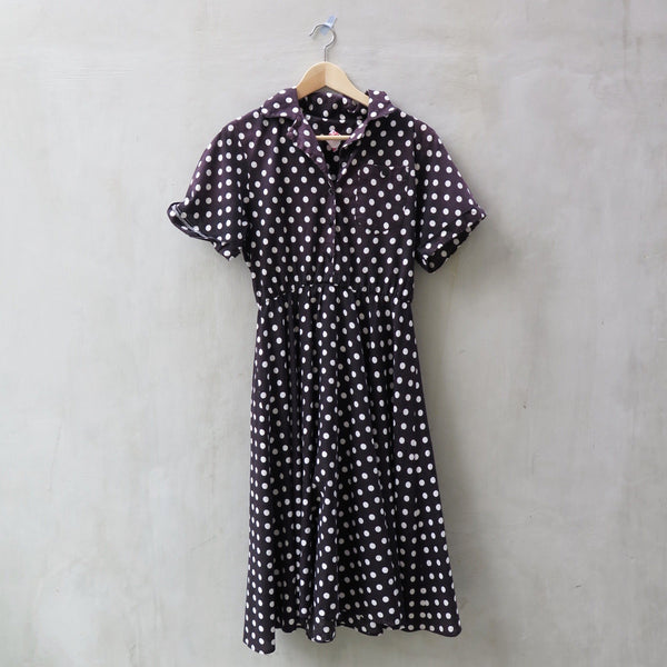 SALE! | Dancing Polka | Vintage 1980s-does-1950s 1