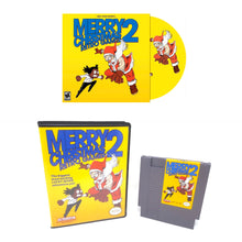 "Load image into Gallery viewer, Merry Christmas Retro Gamer 2 ""NES Collectors Edition"" Package"
