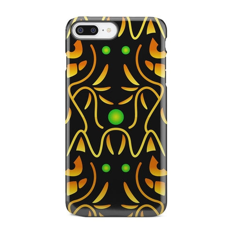 Black And Yellow iPhone and Galaxy case