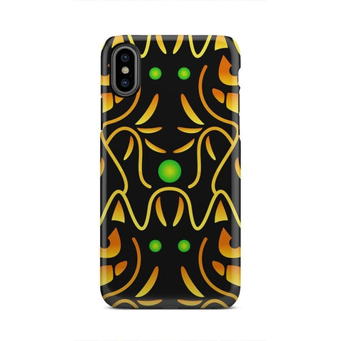 Image of Black And Yellow iPhone and Galaxy case