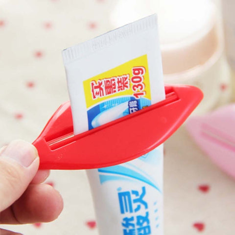 Toothpaste Tube Squeezer Sexy Red Lip shape