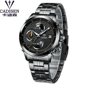 Men's Luxury Sport Stainless Steel Waterproof Watch