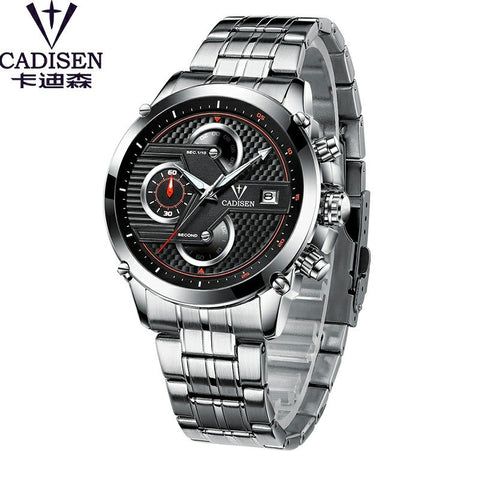 Image of Men's Luxury Sport Stainless Steel Waterproof Watch