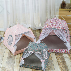 Fancy Cat Tent