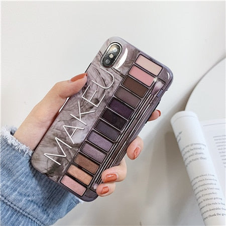 Makeup Eyeshadow Palette phone Case For iphone