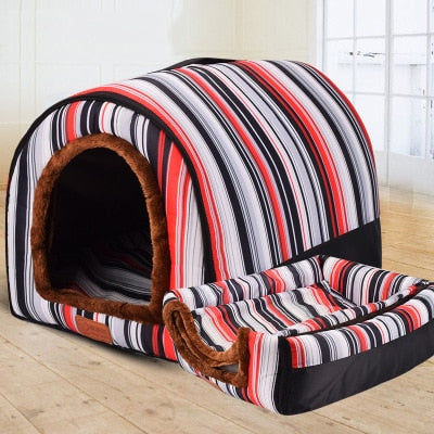 Stylish Warm Dog and Cat House