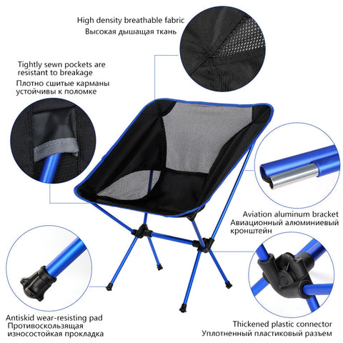 Image of Strong Travel Ultralight Folding Chair