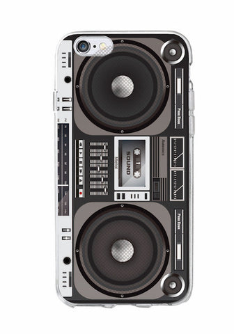 Retro Camera Cassette Tape iPhone Case