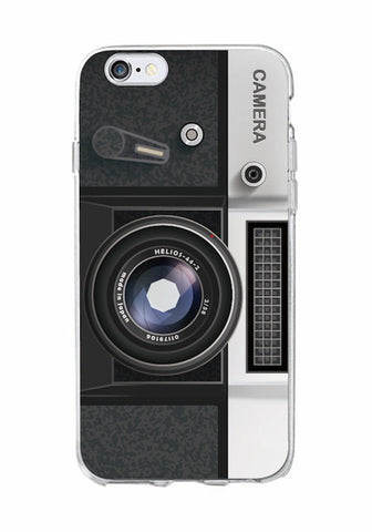 Image of Retro Camera Cassette Tape iPhone Case