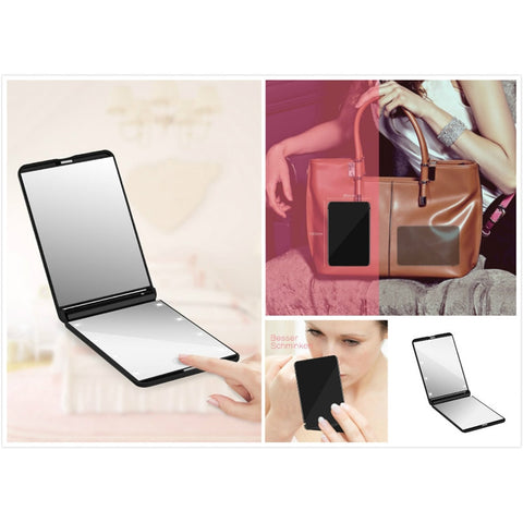 Portable LED Lighted Makeup Mirror