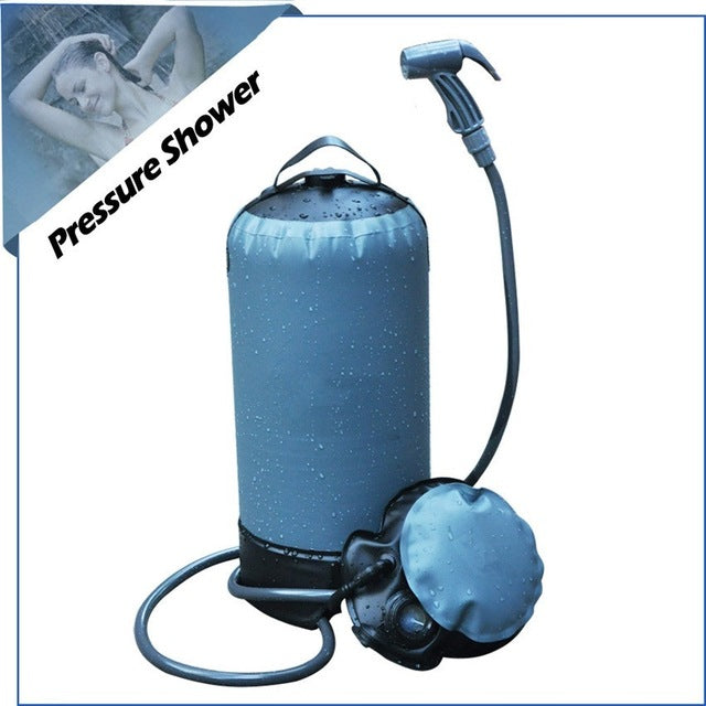 Portable Camping pressure shower - Portable car wash