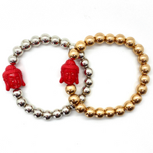 Load image into Gallery viewer, Red Buddha Bracelet