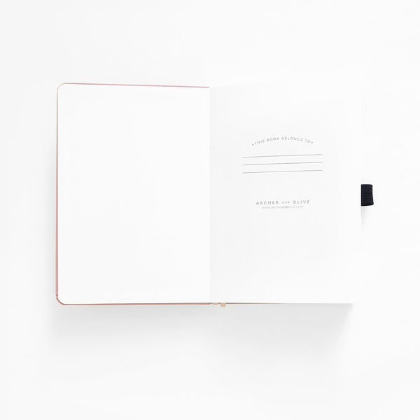 A5 Signature Dot Grid Notebook | Archer & Olive