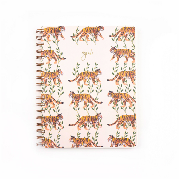 Tiger Vines Undated Planner