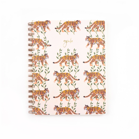 tiger vines undated agenda planner
