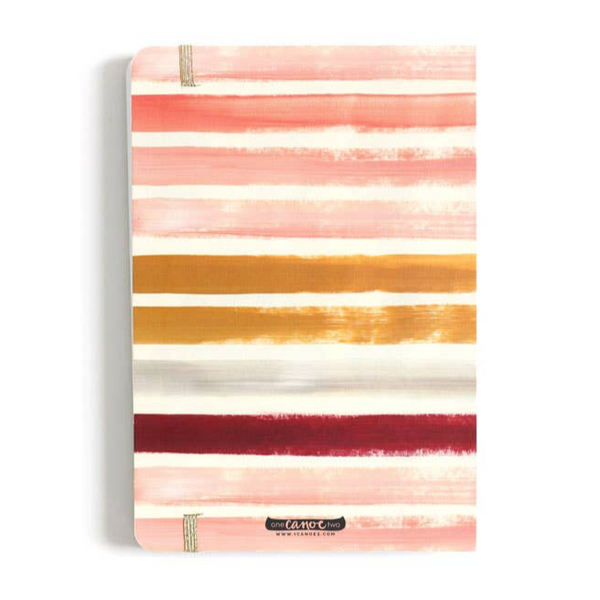 Sunset Stripe Sketchbook