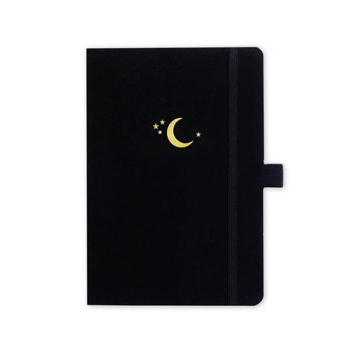 A5 Crescent Moon Dot Grid Notebook | Archer & Olive
