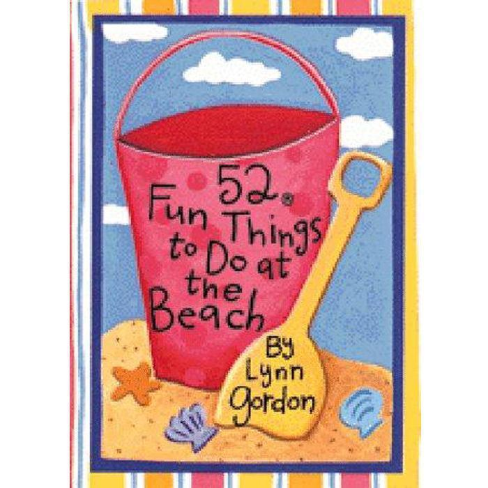 52 Fun Things to Do at the Beach (52 Series) Book Supplement, Chronicle Books - Joanna's Cuties