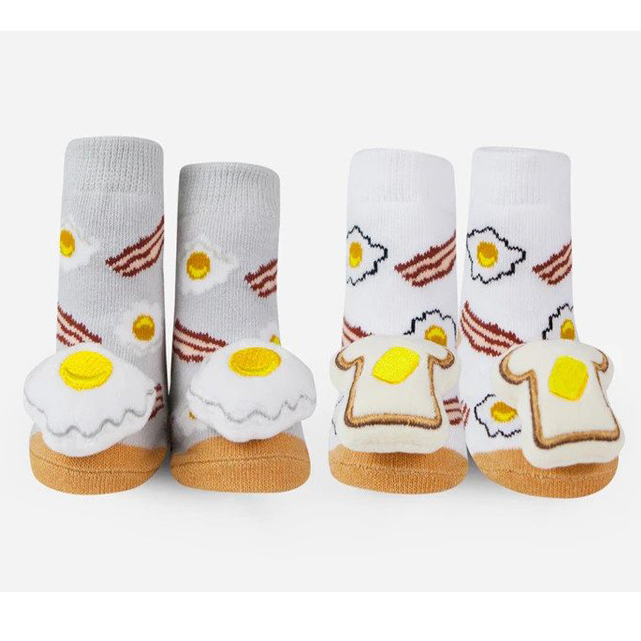 Breakfast Rattle Socks-Waddle-Joanna's Cuties