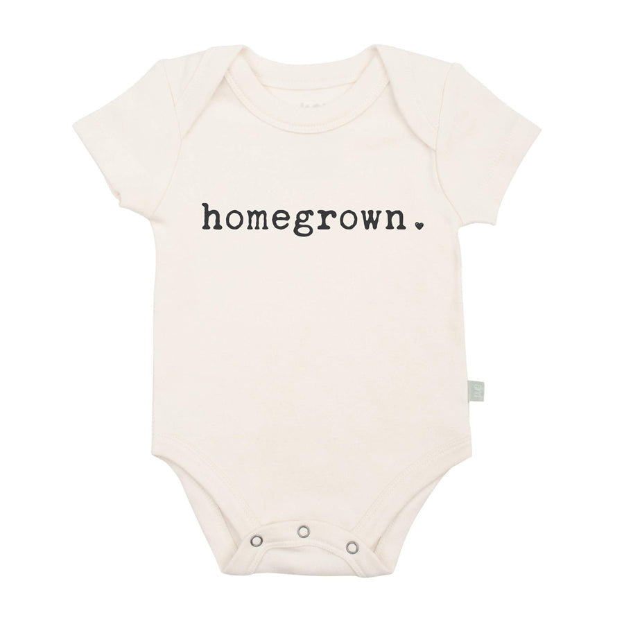 graphic Bodysuit - Homegrown - Finn + Emma - joannas-cuties