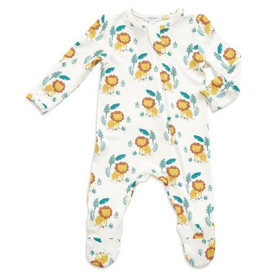 Lion King Zipper Footie - Angel Dear - joannas-cuties