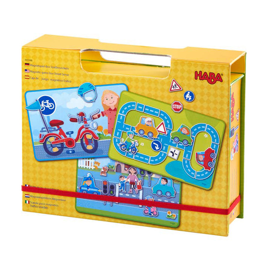 Magnetic Game Box Street Sense-Haba-Joanna's Cuties