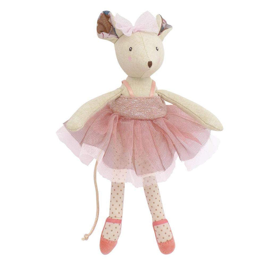 Moulin Roty il Etait Une Fois - Prima Ballerina Mouse Doll - Moulin Roty - joannas-cuties