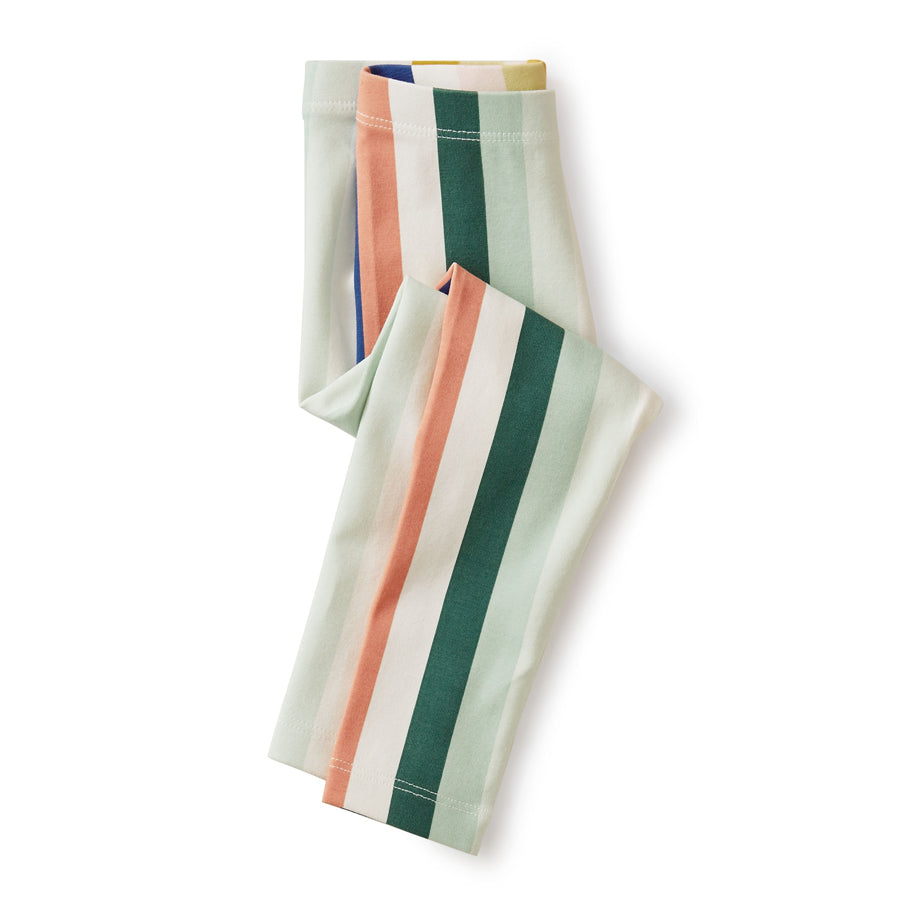 Multi Stripe Baby Leggings-Tea-Joanna's Cuties
