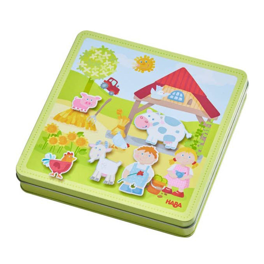 Peter And Pauline's Farm Magnetic Game-Haba-Joanna's Cuties