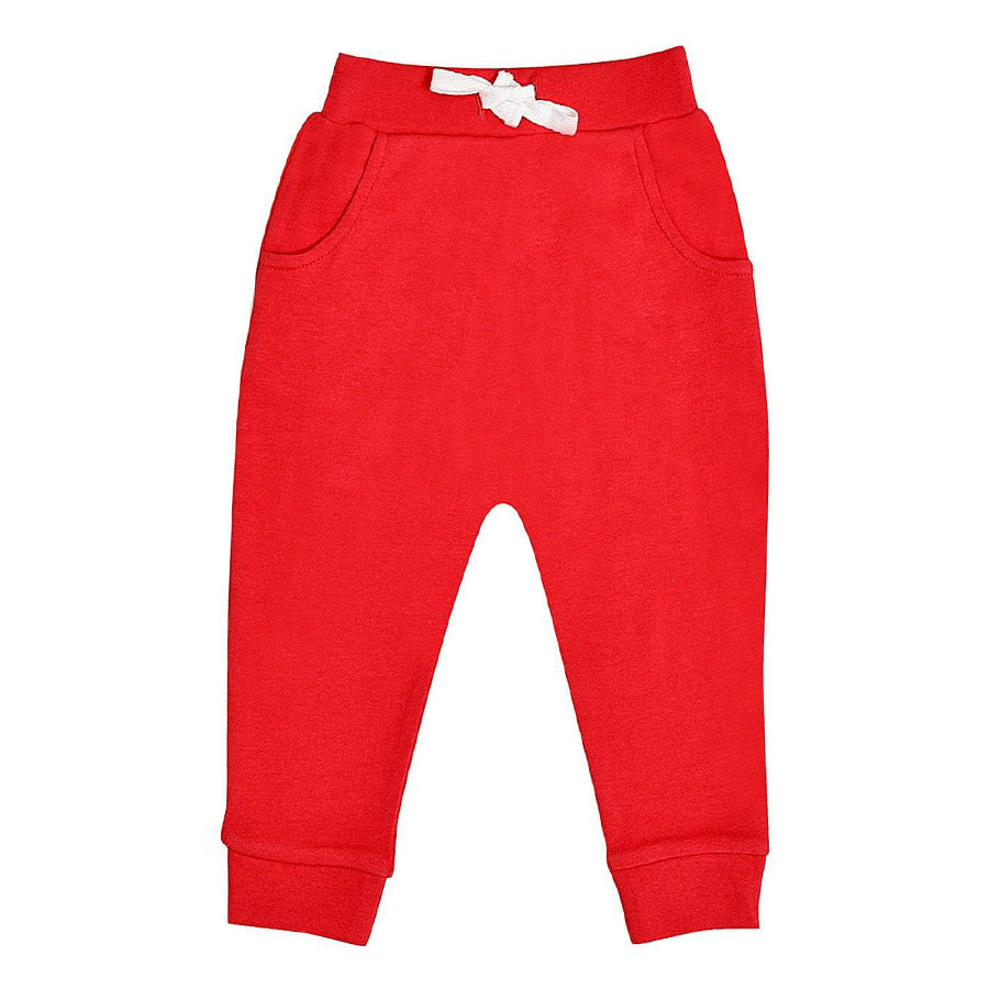 Lounge Pants - Red-Finn + Emma-Joanna's Cuties